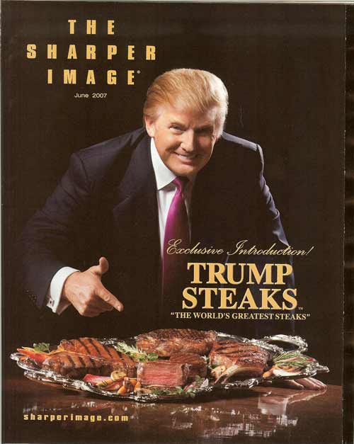 Trump-steaks