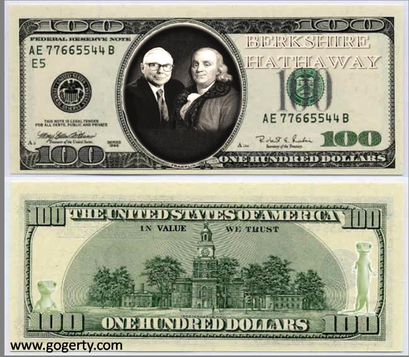 One hundred berk bill buck