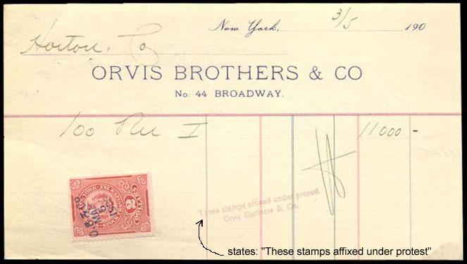 1906NY-stock-transfer-Paid-Under-Protest