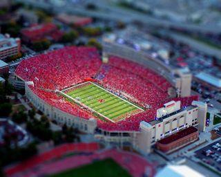 Miniature-stadium-scene